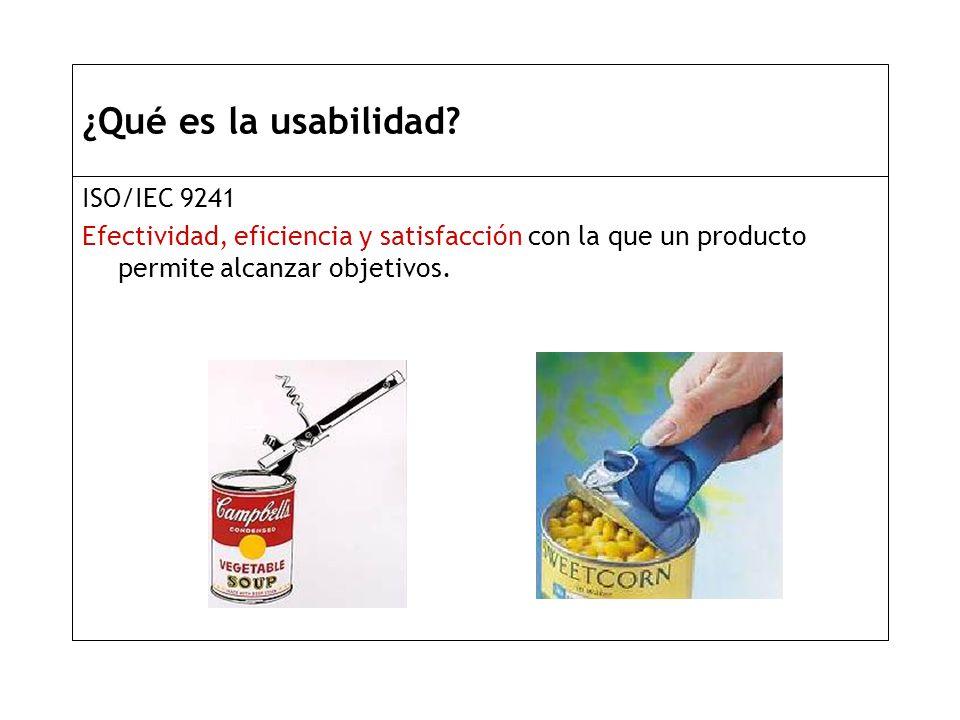 ¿Qué es la usabilidad.
