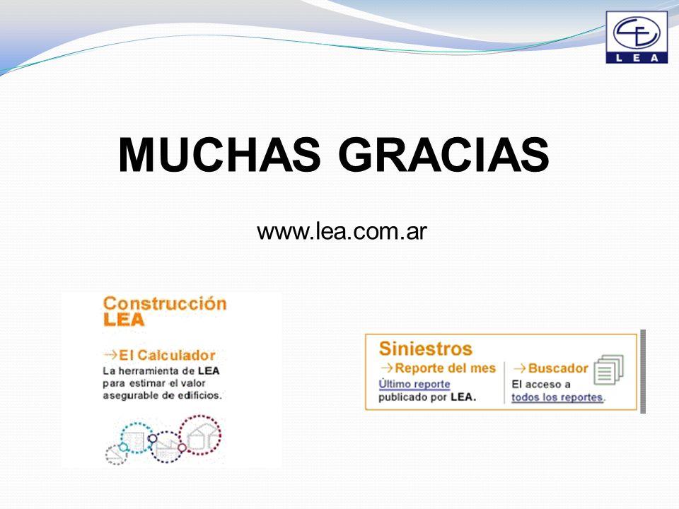 MUCHAS GRACIAS www.lea.com.ar