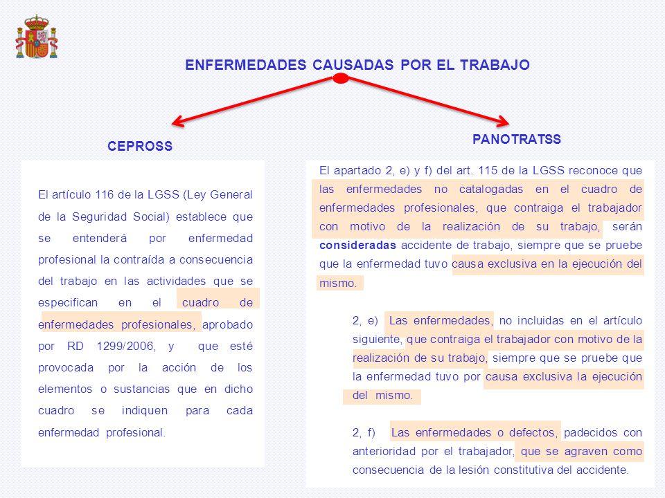 IT Contingencias Profesionales SERVICIOS DE SALUD CCAA (17 + 2) (bajas y altas médicas) MUTUAS Asistencia Sanitaria REVISIÓN INSS Parte de sospecha INCAPACIDAD TEMPORAL (IT) Y ASISTENCIA SANITARIA (AS) ITCP + ITCC = SEGURIDAD SOCIAL ASISTENCIA SANITARIA = PRESUPUESTO CCAA FNANCIADOFNANCIADO GESTIÓNGESTIÓN GASTOGASTO