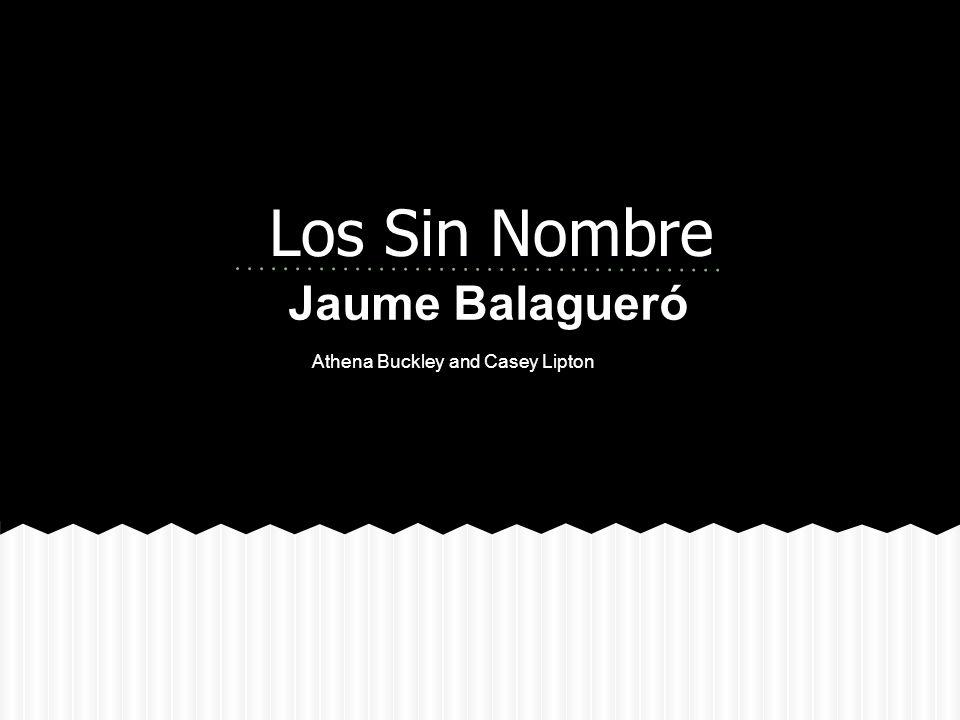 Los Sin Nombre Jaume Balagueró Athena Buckley and Casey Lipton