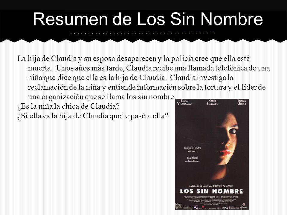 La hija de Claudia y su esposo desaparecen y la policía cree que ella está muerta.
