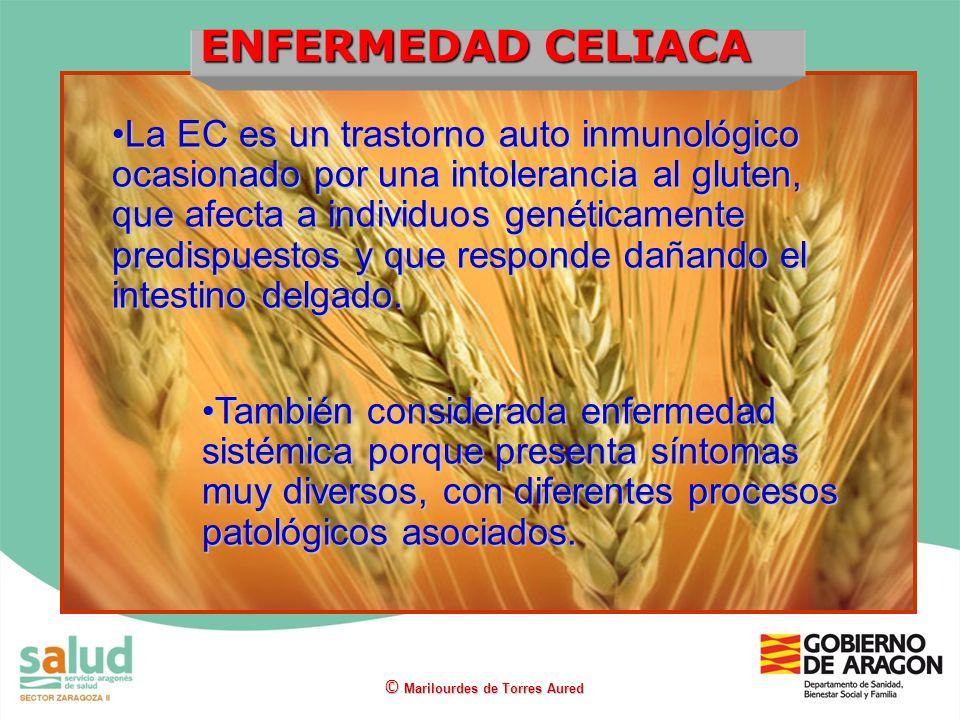 La EC es un trastorno auto inmunológico ocasionado por una intolerancia al gluten, que afecta a individuos genéticamente predispuestos y que responde