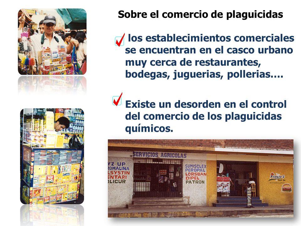 Se ha comprobado que un mayor consumo de plaguicidas no necesariamente mejora la rentabilidad. Fuente: SENASA,2002 Elaboracion: RAAA,2002 Los plaguici