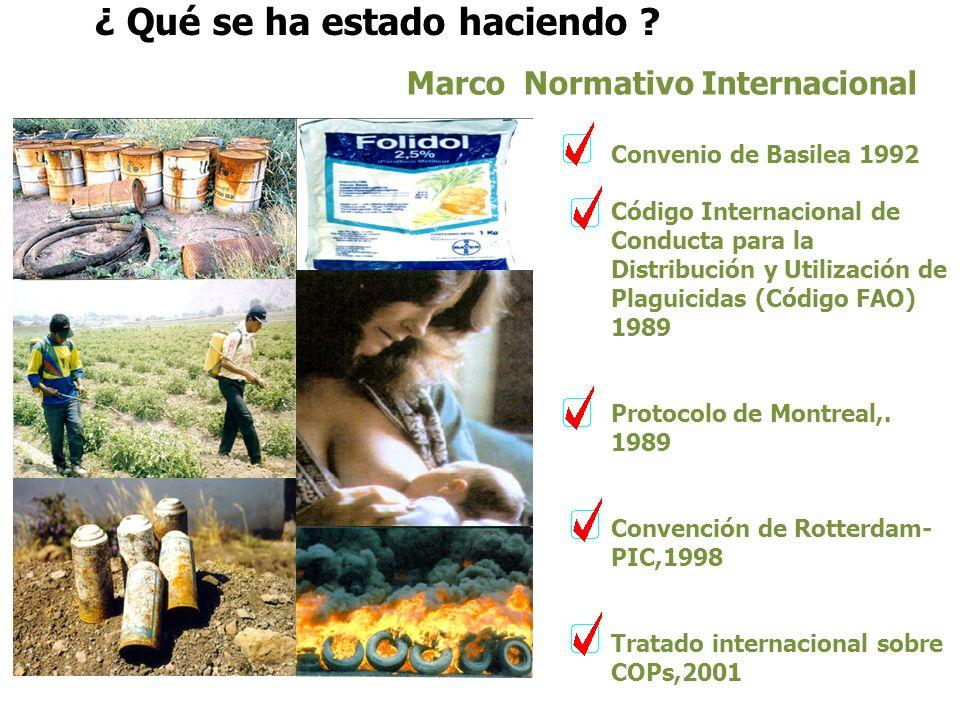 IMPACTOS DE LOS PLAGUICIDAS AL AMBIENTE Mayor uso de plaguicidas Uso de plaguicidas más tóxicos Resistencia en Insectos Elimina insectos benéficos Con
