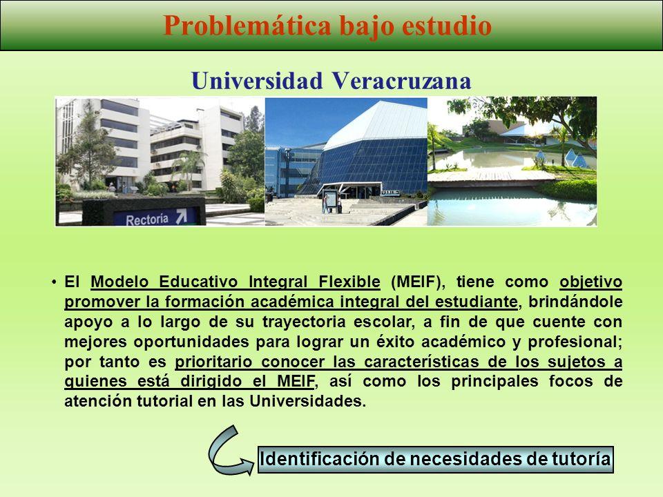 Universidad Veracruzana El Modelo Educativo Integral Flexible (MEIF), tiene como objetivo promover la formación académica integral del estudiante, bri