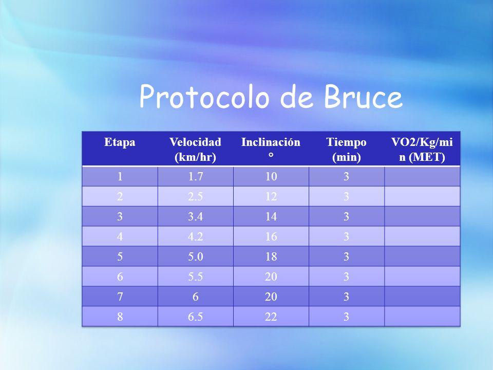 Protocolo de Bruce
