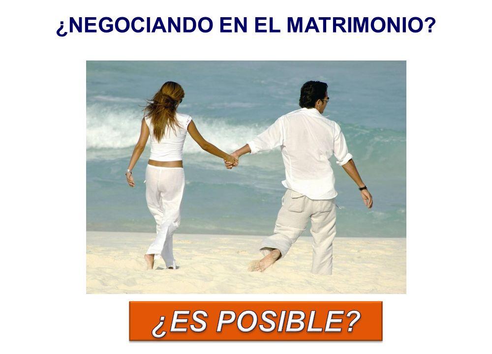 Proceso de resolución de conflictos en el que las partes intentan encontrar un acuerdo que VOLUNTARIAMENTE ACEPTARÁN ¿Esta definición es aplicable a la relación matrimonial.