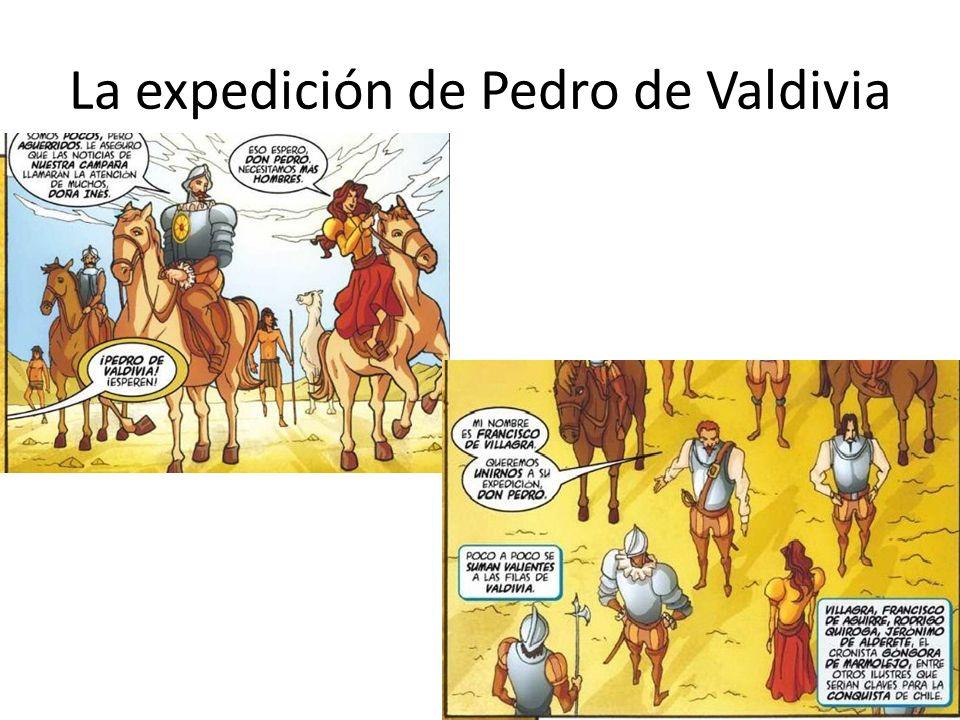 La expedición de Pedro de Valdivia