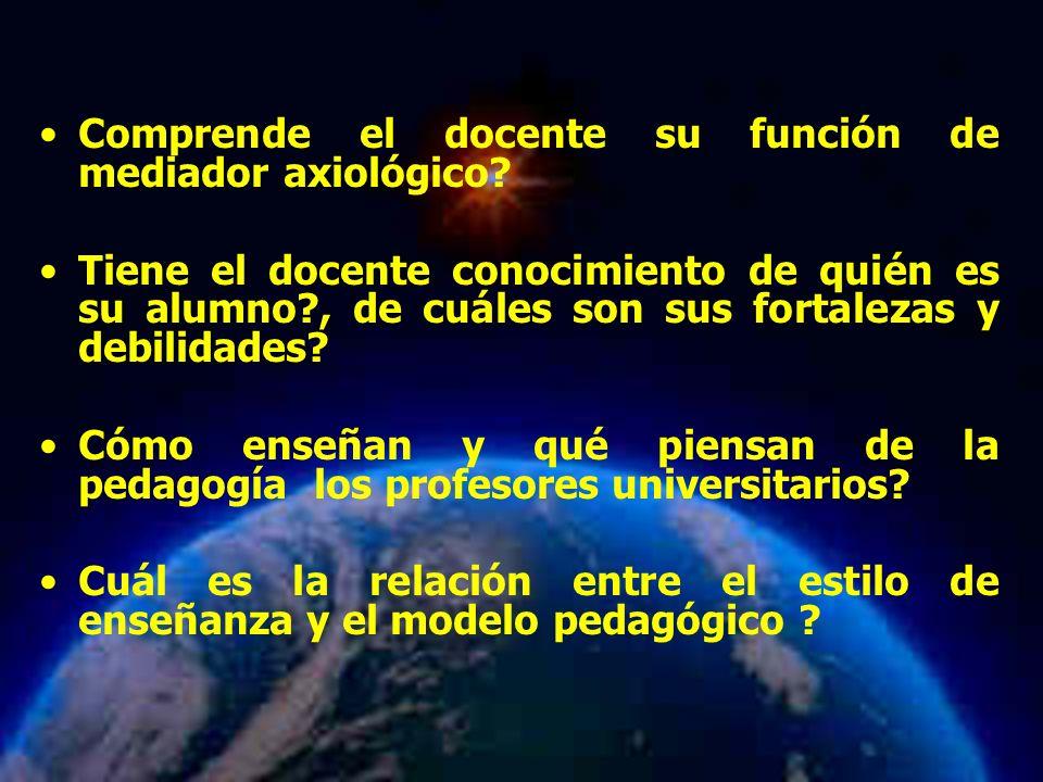 Mariela Salgado A Comprende el docente su función de mediador axiológico.