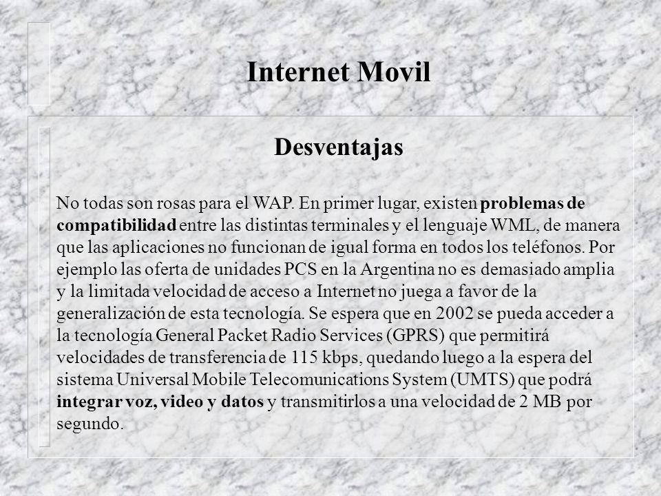 Desventajas del PCS Costos iniciales de Operación son Altos En el Ecuador las tecnologías de comunicaciones en el Ecuador no son de vanguardia El internet movíl aun no esta normalizado por completo