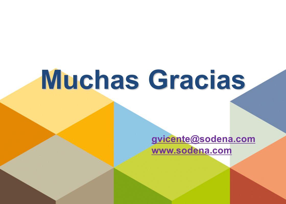 11 Muchas Gracias gvicente@sodena.com www.sodena.com
