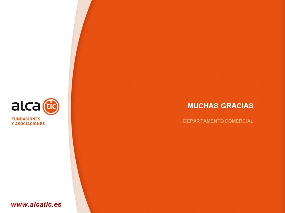 33 © 2008 Sage MUCHAS GRACIAS DEPARTAMENTO COMERCIAL www.alcatic.es