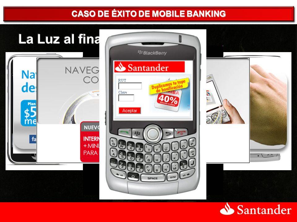 CASO DE ÉXITO DE MOBILE BANKING