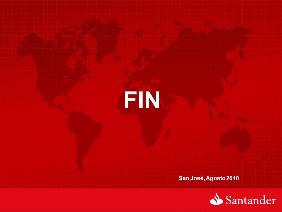 FIN San José, Agosto 2010