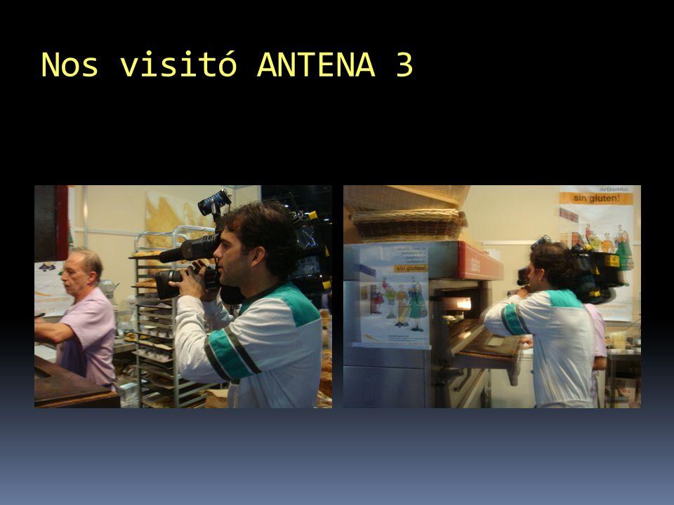 Nos visitó ANTENA 3