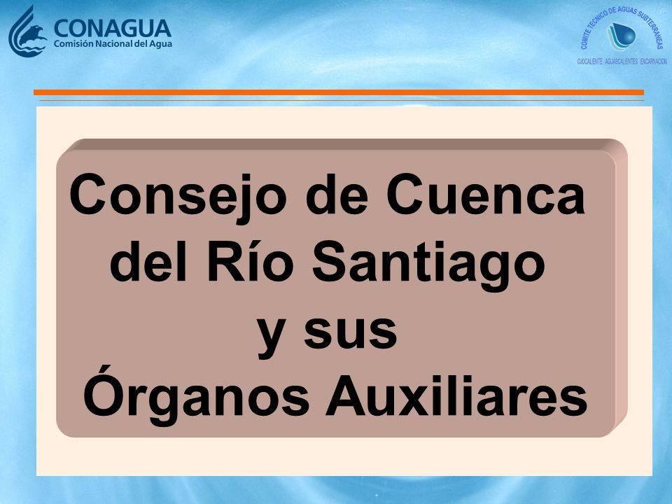 Consejo de Cuenca del Río Santiago y sus Órganos Auxiliares