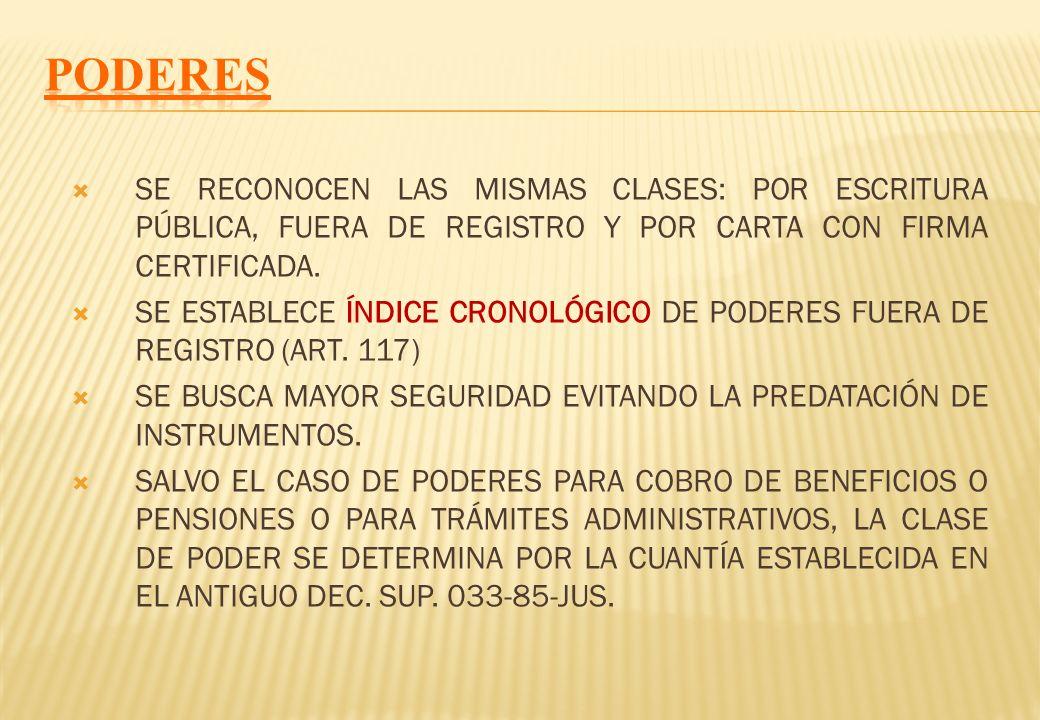 ART. 94 ESTABLECE UN ÍNDICE CRONOLÓGICO DE AUTORIZACIONES DE VIAJE DE MENOR AL INTERIOR O AL EXTERIOR DEL PAÍS, POR LO CUAL QUEDARÁ UNA CONSTANCIA DE