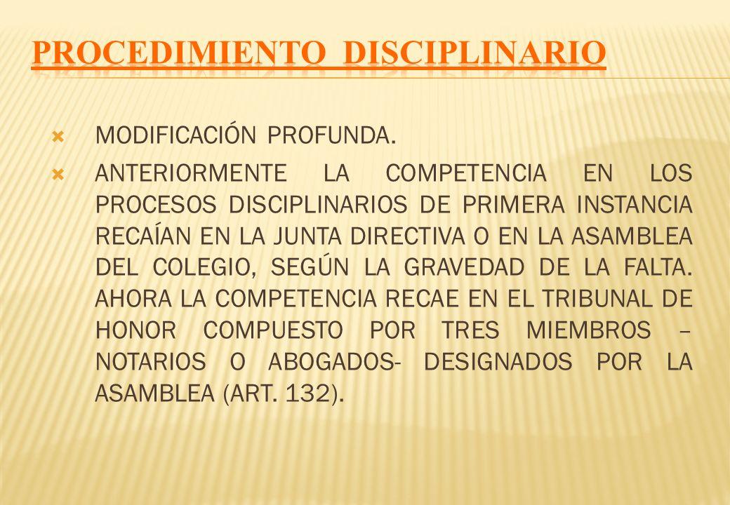 CON RESPECTO AL CONSEJO DEL NOTARIADO SE LE OTORGA LA POTESTAD NORMATIVA PARA EMITIR DIRECTIVAS PARA EL MEJOR CUMPLIMIENTO DE LA FUNCIÓN (ART. 142-D).