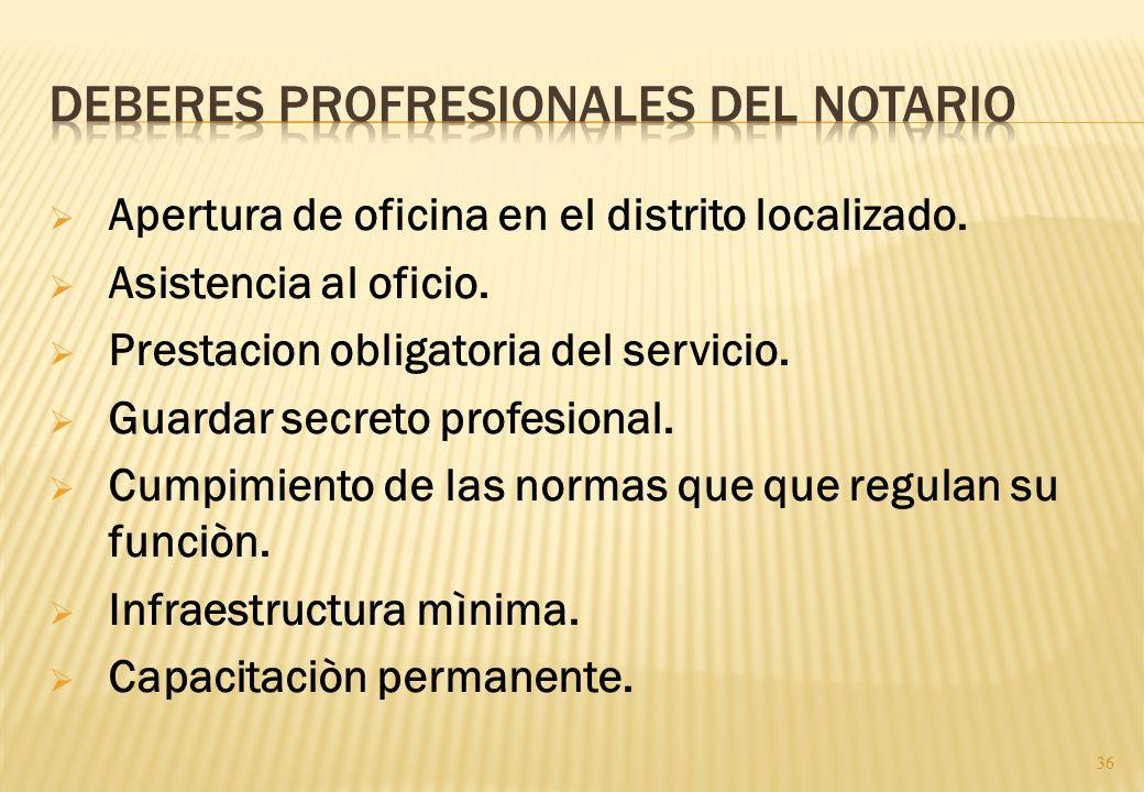 Art.43º No podrán extraerse los registros y tomos de la oficina del notario, excepto por razones de fuerza mayor o cuando así se requiera para el cump