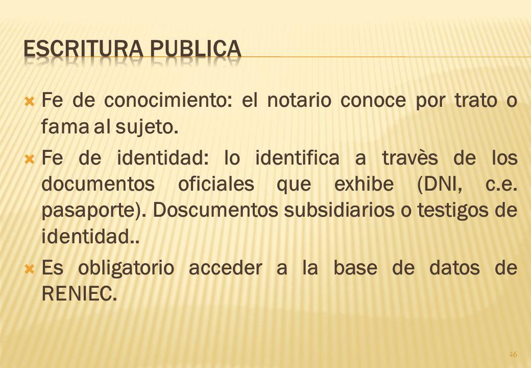 Introduccion: Domicilio de los otorgantes (54C) Otorgante (dispone de sus derechos e intereses- parte. Interviniente (dispone para otro) ej. el apoder