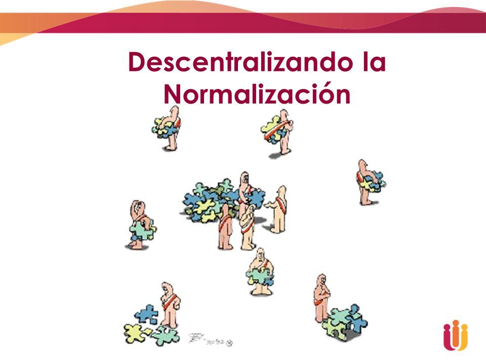 Descentralizando la Normalización
