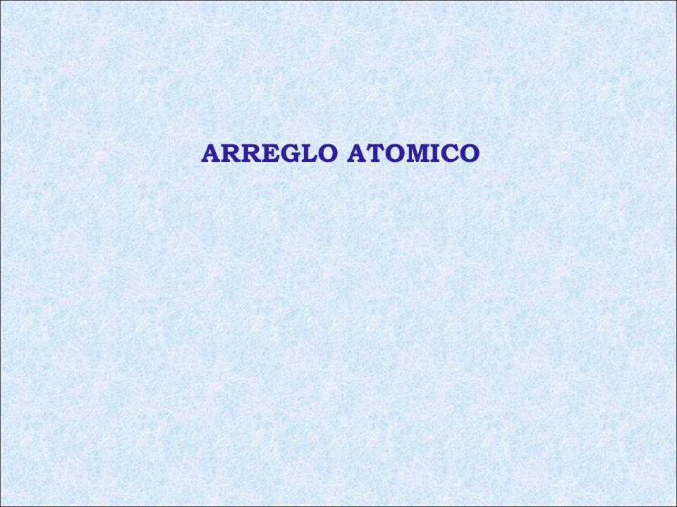 ARREGLO ATOMICO