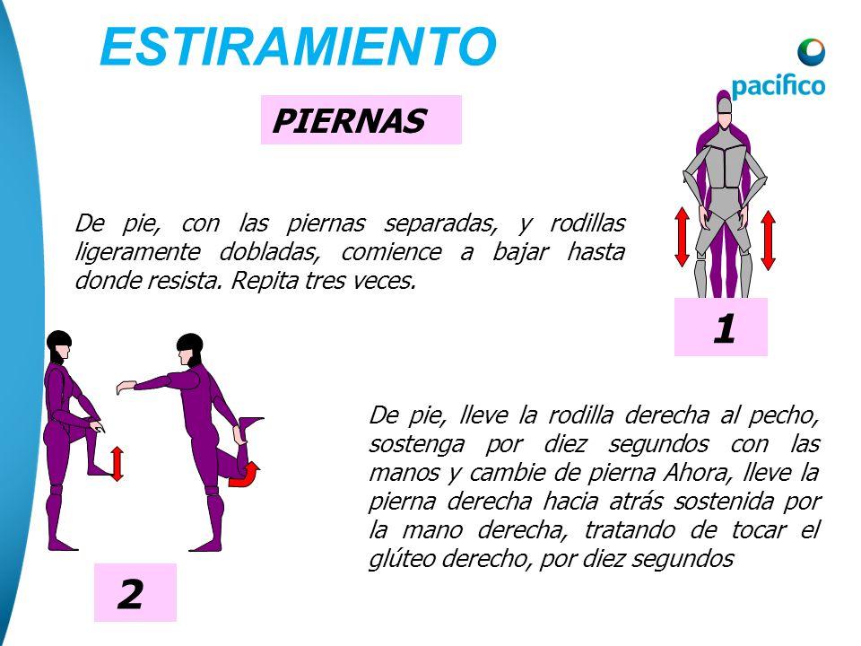 Coloque el brazo izquierdo delante de la cintura, y lleve el brazo derecho extendido al lado hacia arriba, flexione ligeramente el tronco hacia el lad