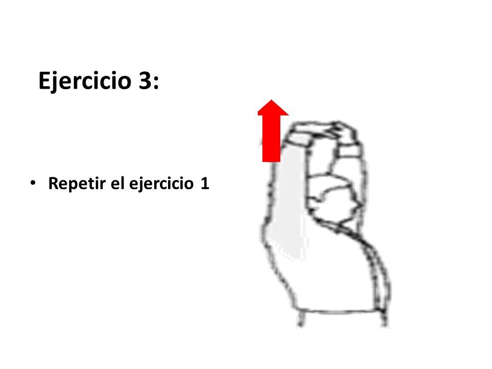 Ejercicio 2: brazos doblados mano en codo contrario flexión lateral del tronco 5 segundos a cada lado, hasta sentir una suave tensión