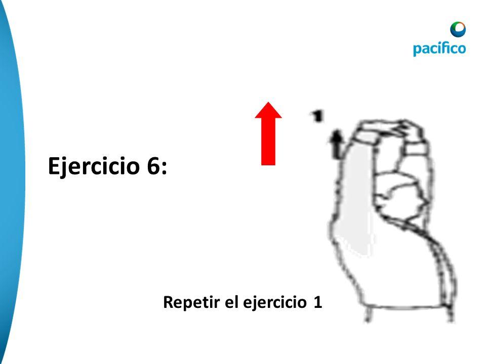 Ejercicio 5: Extensión de hombro mano en muñeca opuesta por detrás de la espalda leve tracción del brazo y se estira el cuello hacia el lado contrario
