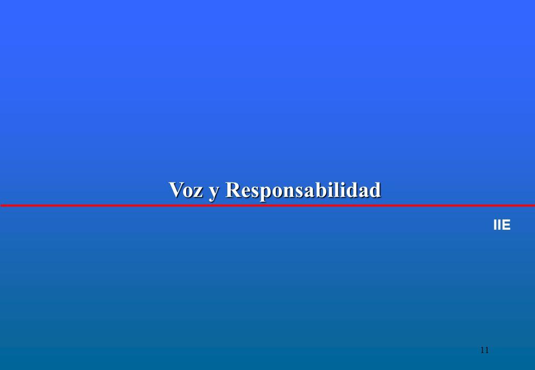 11 Voz y Responsabilidad IIE