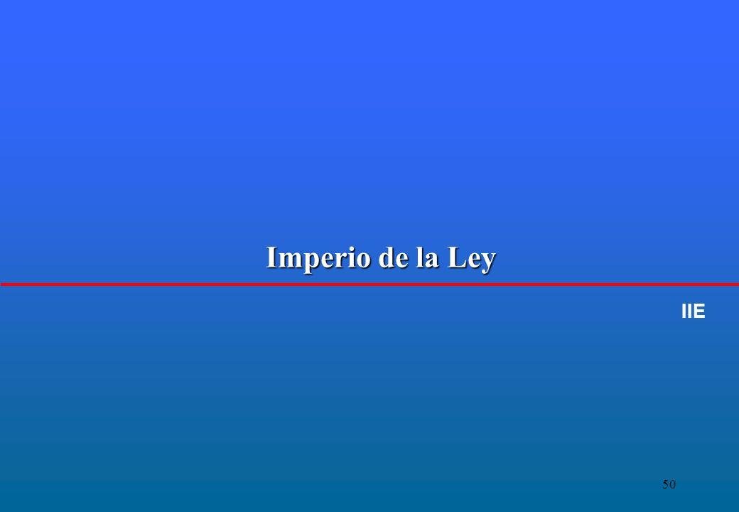 50 Imperio de la Ley IIE
