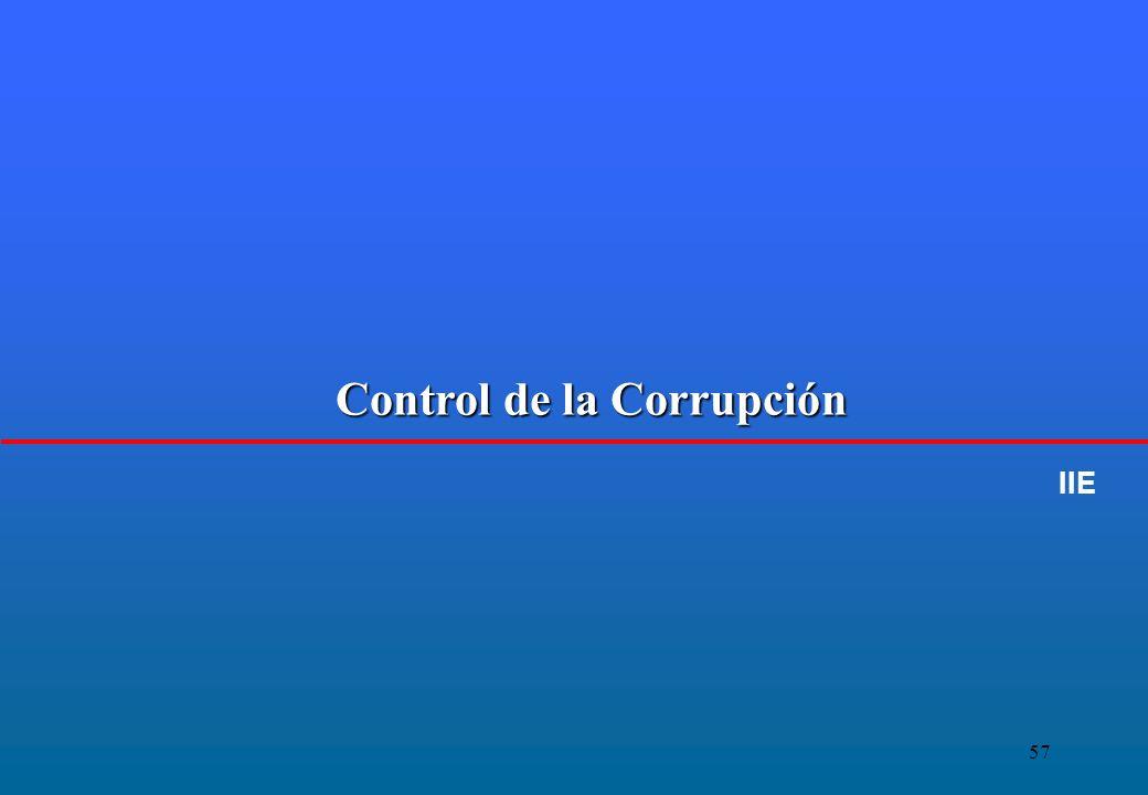 57 Control de la Corrupción IIE
