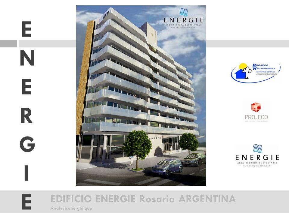 EDIFICIO ENERGIE Rosario ARGENTINA Analyse énergétique ENERGIEENERGIE