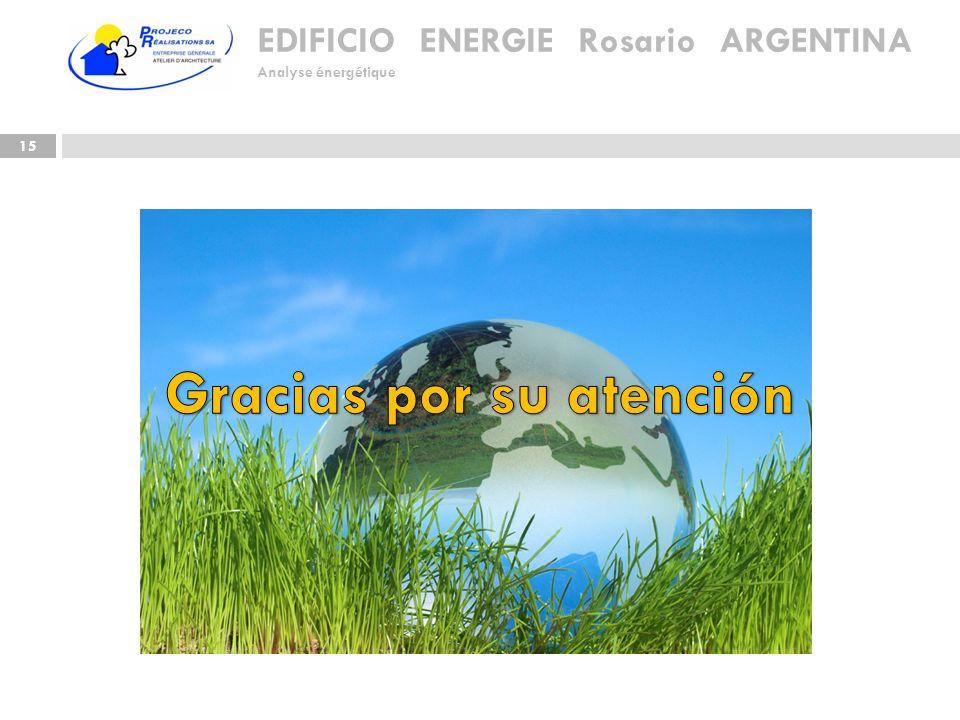 EDIFICIO ENERGIE Rosario ARGENTINA Analyse énergétique 15