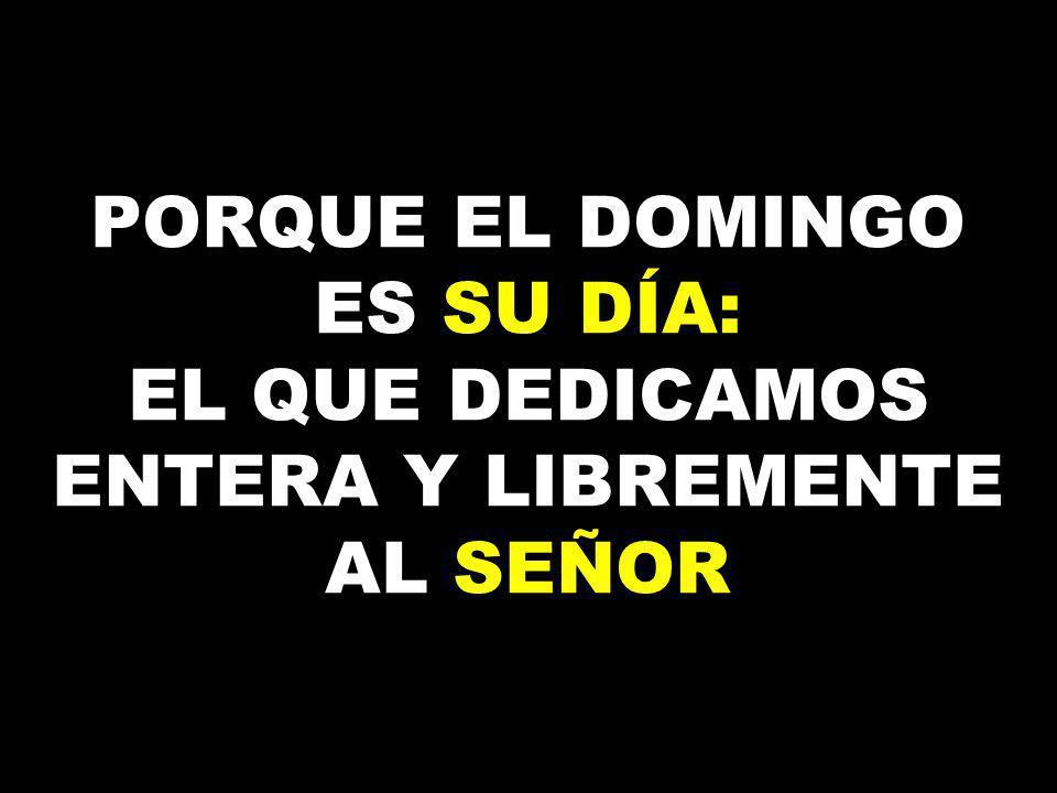 SIN EL DOMINGO NO PODEMOS SER CRISTIANOS DE VERDAD