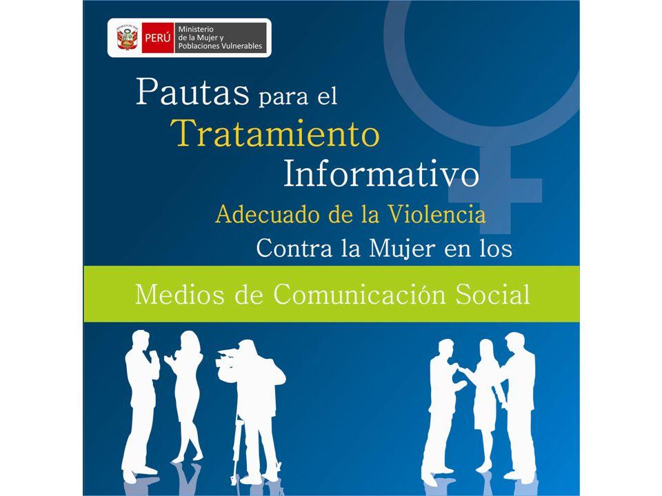 Los medios de comunicación han jugado un rol importante en la visibilización de la violencia contra la mujer en nuestra sociedad.