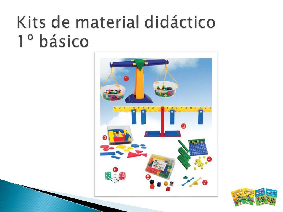Kits de material didáctico 1º básico