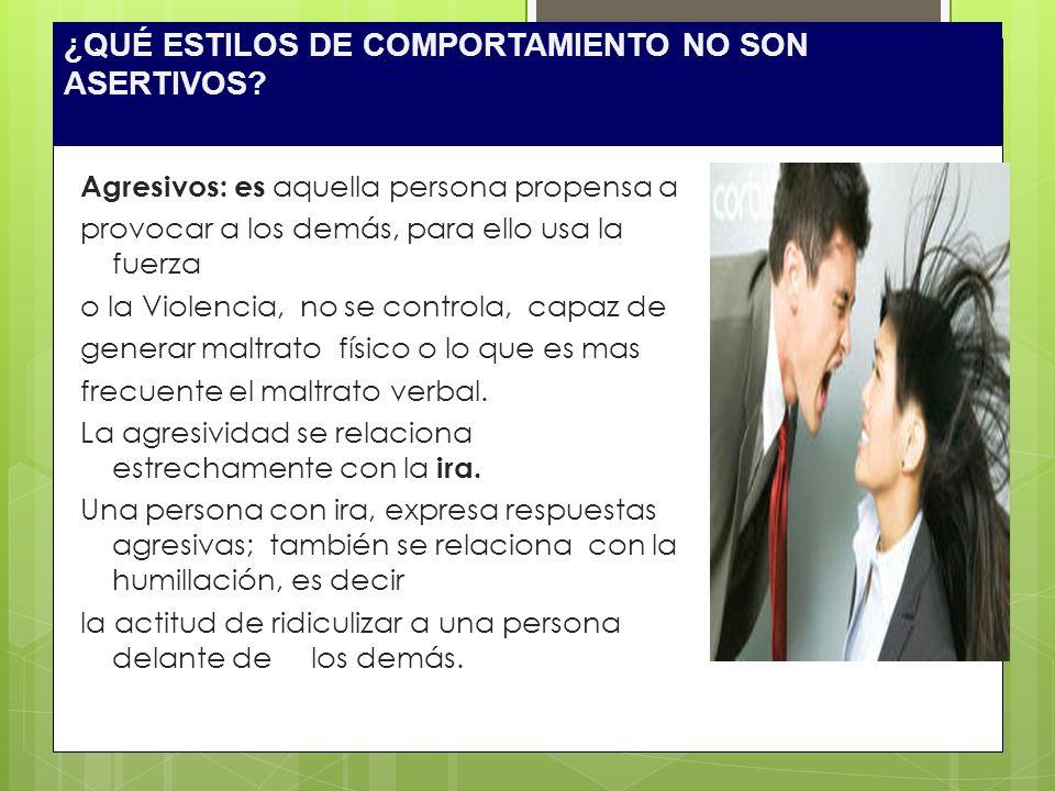 1.Uso de Mensajes Yo Se describe sin condenar el comportamiento de la otra persona.