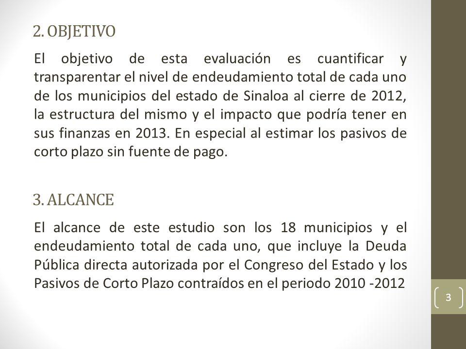 4.ENDEUDAMIENTO TOTAL 4 4. 1. Nivel y estructura del endeudamiento total.