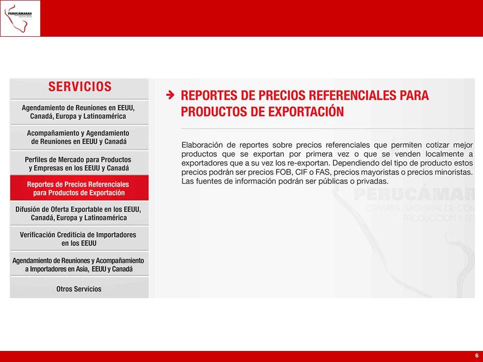 Exportación Información de SIICEX: Módulo Flujo Exportador: