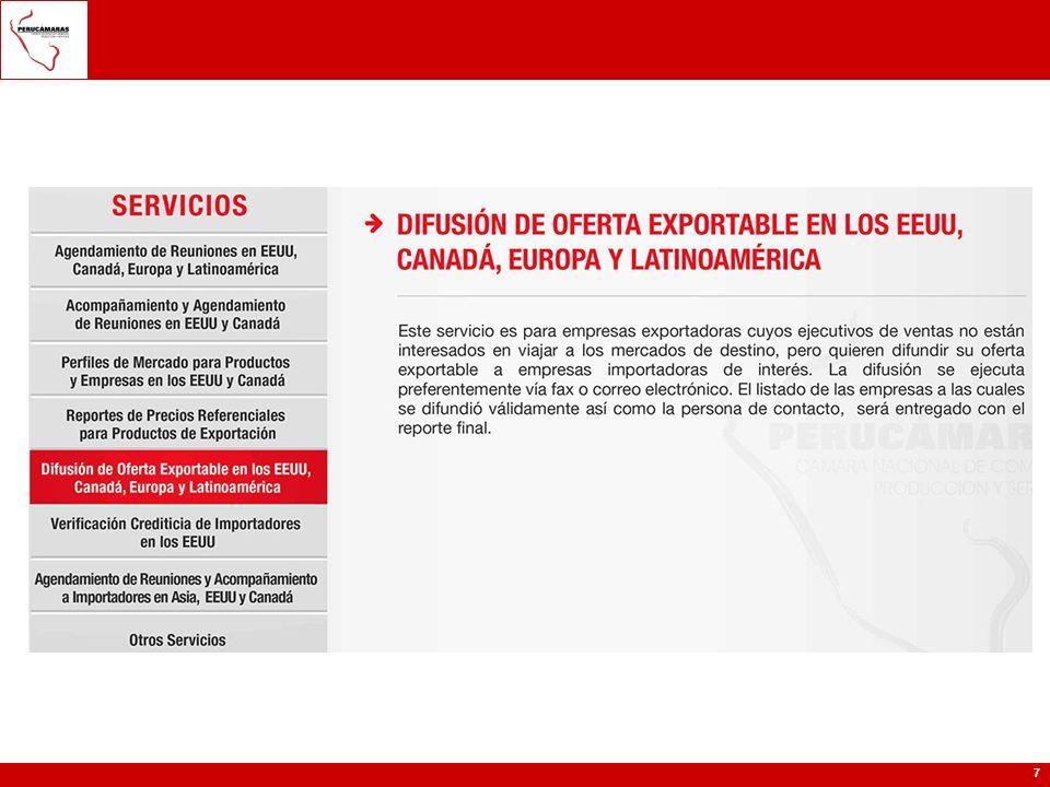Exportación Información de SIICEX: Guía para Exportar: