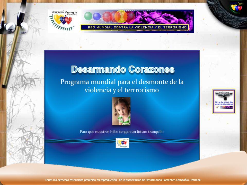 Todos los derechos reservados prohibida su reproducción sin la autorización de Desarmando Corazones Compañía Limitada