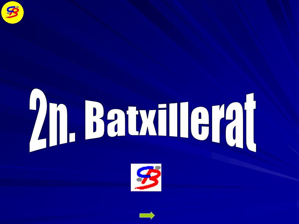 RESULTATS DE LESCOLA BATXILLERAT i PAU