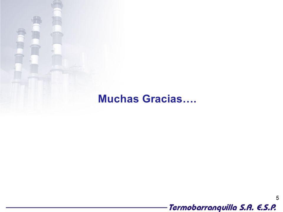 5 Muchas Gracias….