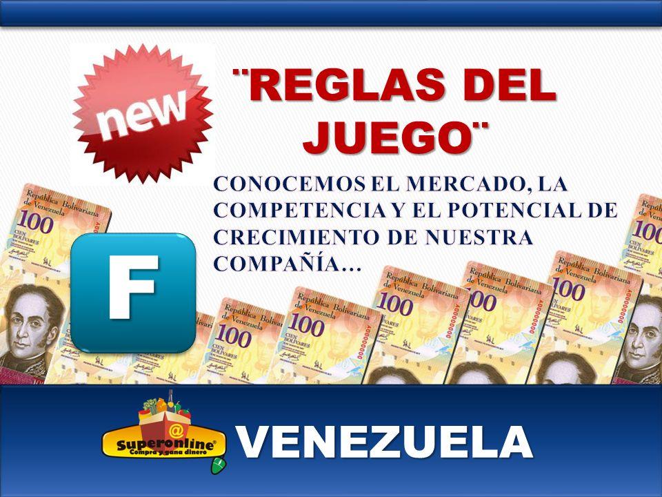 VENEZUELA F ¨REGLAS DEL JUEGO¨