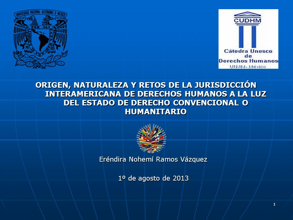 2 Objetivos de esta investigación Analizar el origen, naturaleza y funciones de la jurisdicción interamericana de derechos humanos.