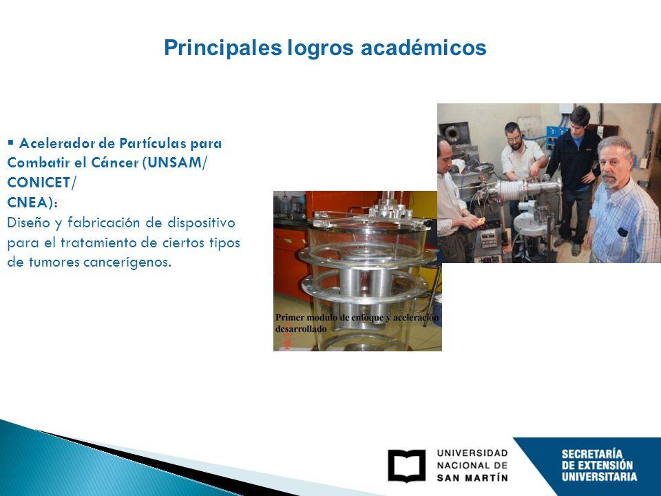 Acelerador de Partículas para Combatir el Cáncer (UNSAM/ CONICET/ CNEA): Diseño y fabricación de dispositivo para el tratamiento de ciertos tipos de tumores cancerígenos.