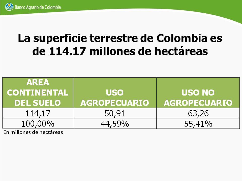 Según los datos del último censo general de población, realizado por el Departamento Administrativo Nacional de Estadísticas (DANE), la República de Colombia contaba en el año 2005 con 42.888.594 habitantes, de los cuales 31.886.602 (74,3%) habitan en las cabeceras municipales o distritales y 11.001.990 (25,7%) en el sector rural.