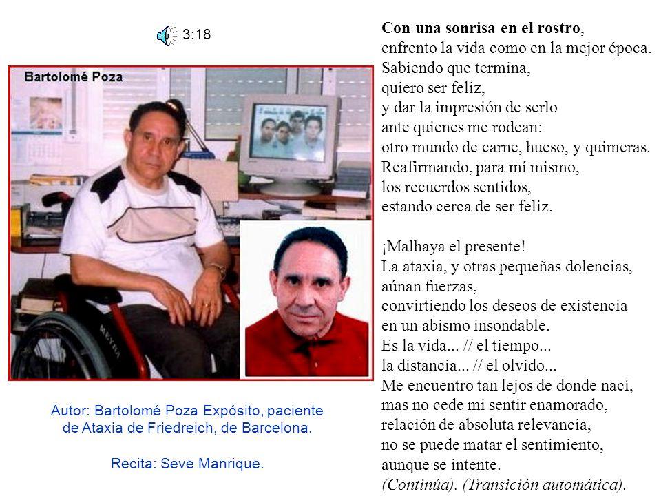 2:35 (Moise González) Canción de Moise González. (paciente de distrofia muscular). Título: Déjate llevar.