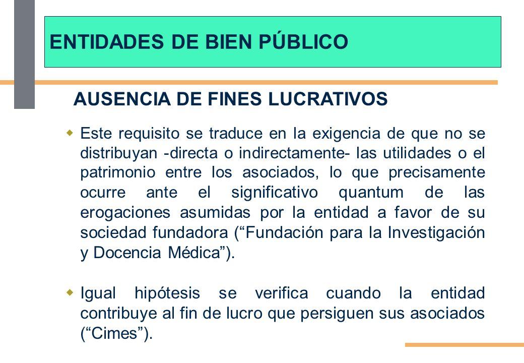 AUSENCIA DE FINES LUCRATIVOS Cabe negar la franquicia a una fundación que ha cedido las construcciones realizadas a favor de una entidad no exenta.